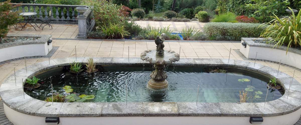 Pond And Water Feature Services To Dorset West Hampshire And South Wiltshire The Koi Shop